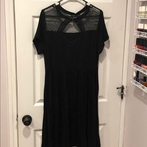Torrid black dress size 1XL